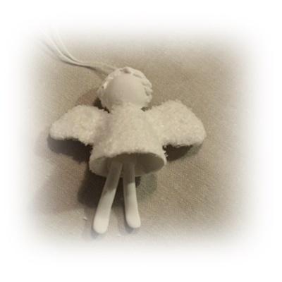 Frostig ängel