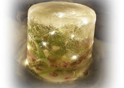 Dekoration av vissna tulpaner
