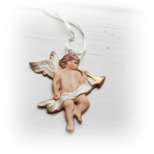 Hängande ängel i keramik