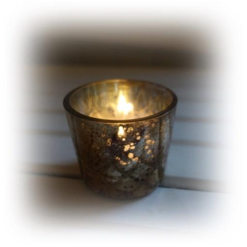 Ljuskopp i nyanser av brons