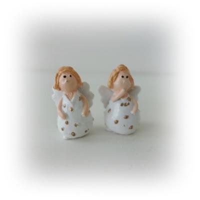 Mini änglar med prickig klänning