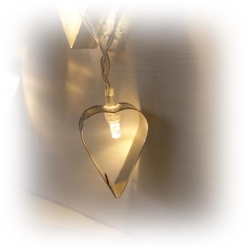 Slinga med flera hjärtan