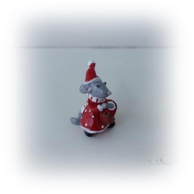 Julmöss med toppluva