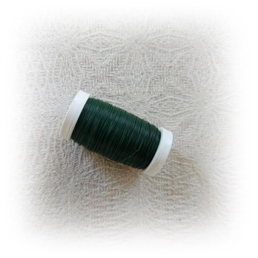 Grön Myrtentråd för blombinderi