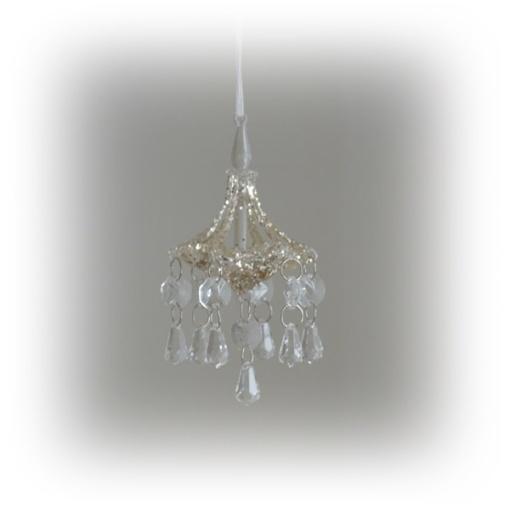 glittrig krona att hänga