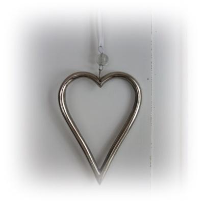 ihåligt metallhjärta