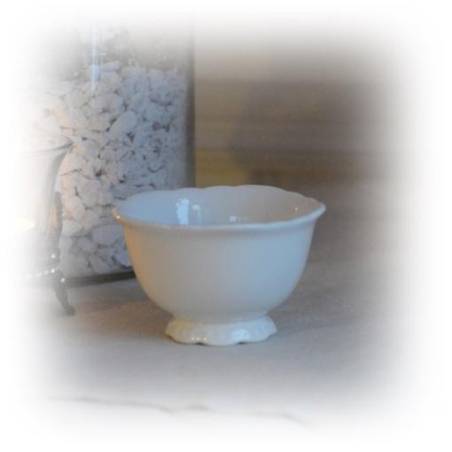 porslinsskål vit