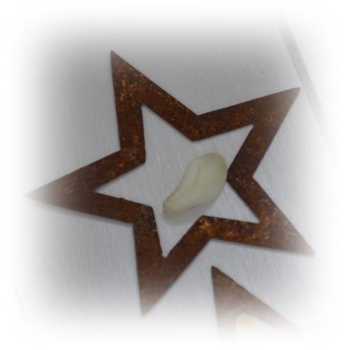 rost stjärnor