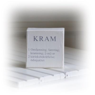 Synonymtavla till Kram